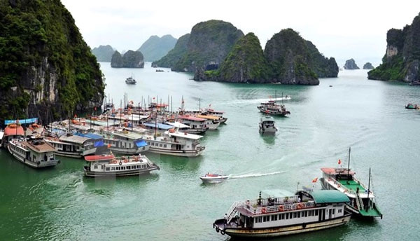 Quảng Ninh: Đình chỉ hoạt động 2 tàu du lịch vì để khách ngồi lên lan can