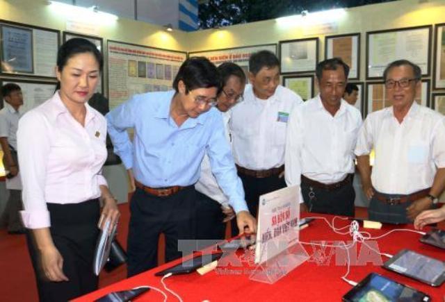 Vĩnh Long: Triển lãm bản đồ và trưng bày tư liệu về bằng chứng lịch sử, pháp lý Hoàng Sa, Trường Sa của Việt Nam