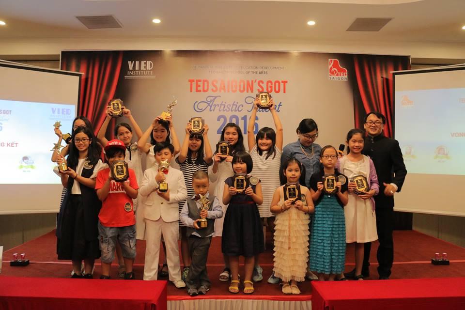 """""""TED SAIGON's Got Artistic Talents 2016"""" - Bước đà cho các tài năng Việt trên đấu trường quốc tế"""