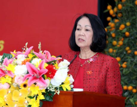 Đoàn kiểm tra của Bộ Chính trị làm việc với Ban Thường vụ Tỉnh ủy Sóc Trăng