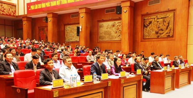 Vĩnh Phúc tổ chức Hội nghị quán triệt nghị quyết Trung ương 4 (khóa XII)