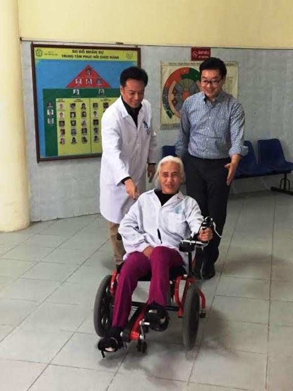 Ứng dụng kỹ thuật phục hồi chức năng của Nhật Bản tại một số bệnh viện Việt Nam