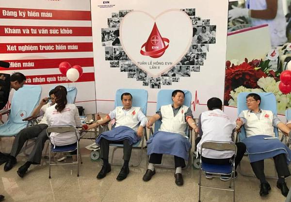 EVN phát động hiến máu nhân đạo lần II