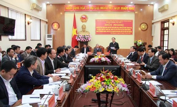 Công bố kết quả kiểm tra, giám sát các vụ án tham nhũng, kinh tế nghiêm trọng tại Thái Nguyên