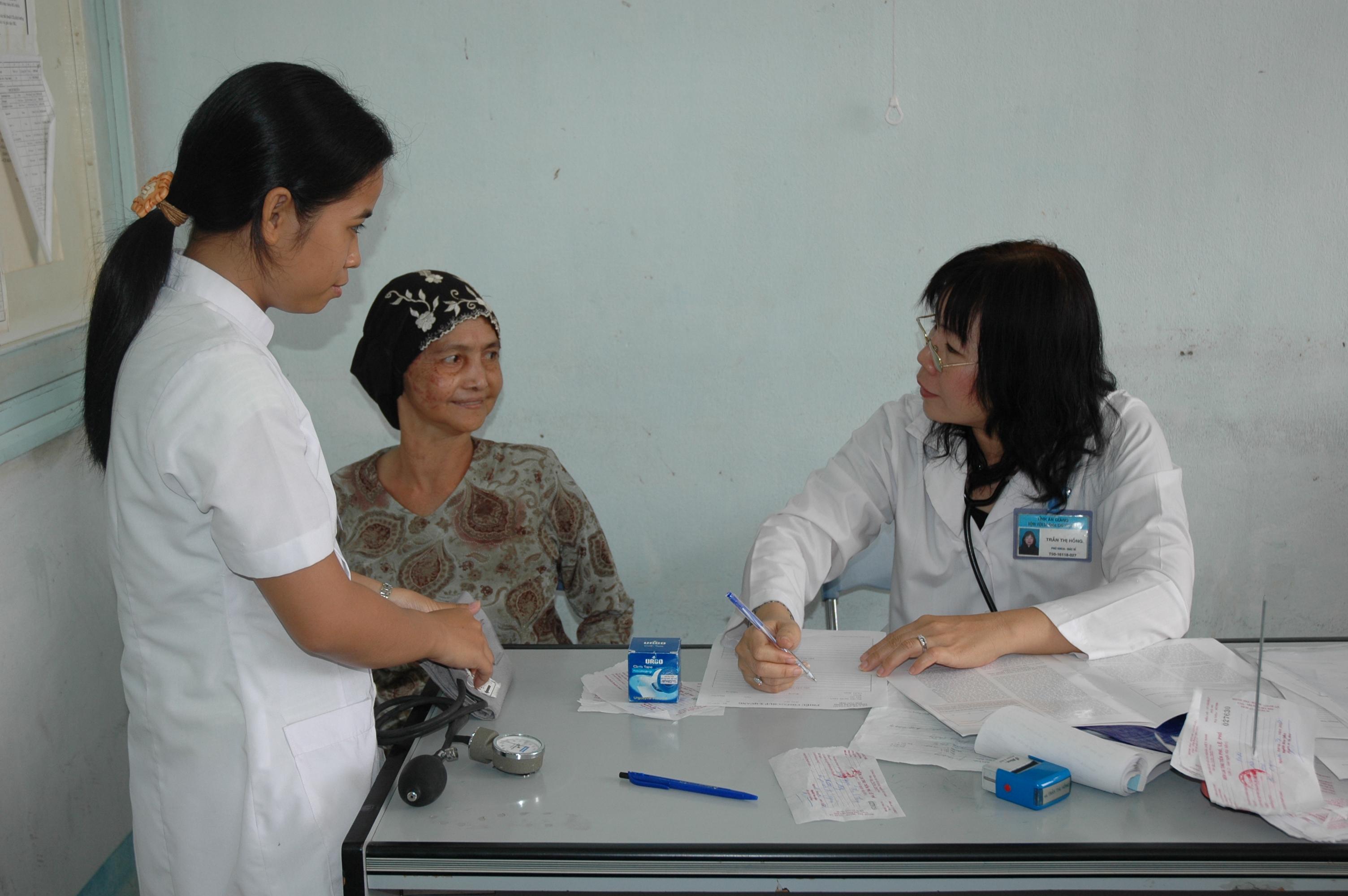 Vĩnh Phúc: đẩy mạnh chăm sóc sức khỏe cho nhân dân