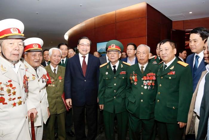 Hà Nội gặp mặt cựu chiến binh, thanh niên xung phong tham gia kháng chiến chống Pháp