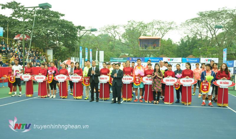 Khai mạc giải các cây vợt xuất sắc Việt Nam – Vietravel Cup 2016