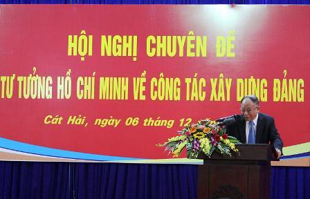Huyện ủy Cát Hải (Hải Phòng) đưa Chỉ thị 05 của Bộ Chính trị vào cuộc sống