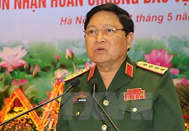 Đoàn đại biểu Quân sự cấp cao Việt Nam thăm hữu nghị chính thức Ấn Độ