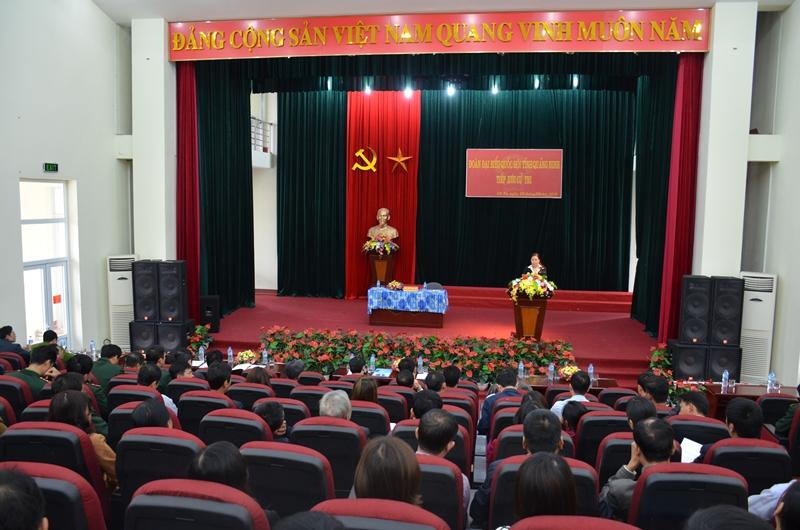 Quảng Ninh: Tiếp xúc cử tri huyện Cô Tô