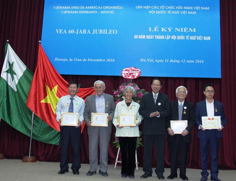 Kỷ niệm 60 năm thành lập Hội Quốc tế ngữ Việt Nam