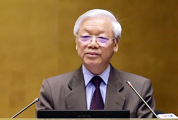 Tổng Bí thư Nguyễn Phú Trọng: Thực hiện nghiêm túc, có hiệu quả Nghị quyết Trung ương 4 (khóa XII) về xây dựng, chỉnh đốn Đảng