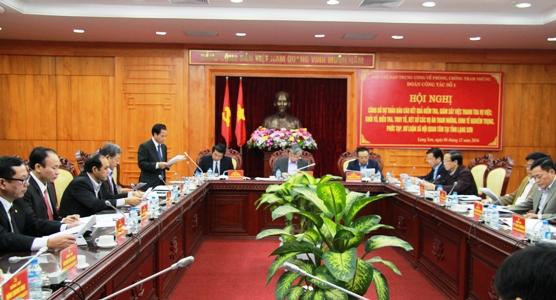 Công bố kết quả kiểm tra, giám sát các vụ án tham nhũng, kinh tế nghiêm trọng tại Lạng Sơn