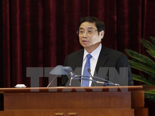Trưởng Ban Tổ chức Trung ương Phạm Minh Chính thăm và làm việc tại Trung Quốc