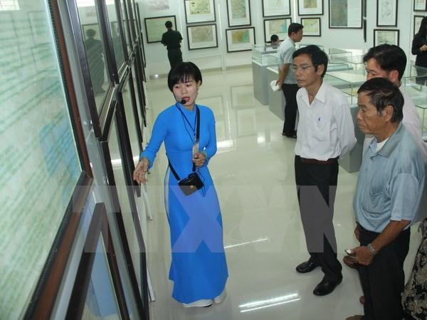 Triển lãm bản đồ và trưng bày tư liệu Hoàng Sa, Trường Sa của Việt Nam tại Long An