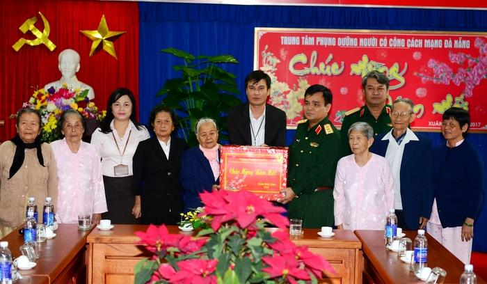 Thượng tướng Lê Chiêm thăm, chúc tết tại Đà Nẵng và Quảng Nam
