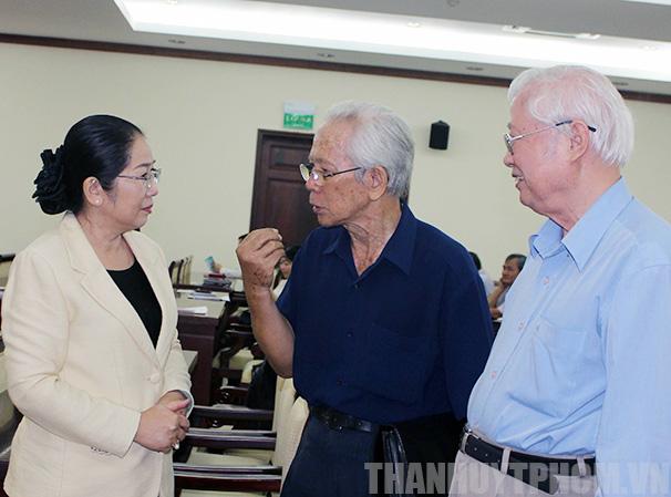 Thành phố Hồ Chí Minh: Quán triệt Nghị quyết Trung ương 4 (khóa XII) cho cán bộ trí thức, văn nghệ sĩ, phóng viên báo chí
