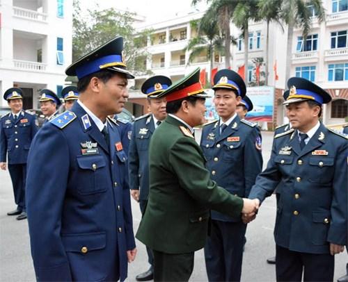 Bộ trưởng Bộ Quốc phòng thăm, kiểm tra, chúc tết Bộ Tư lệnh Cảnh sát biển