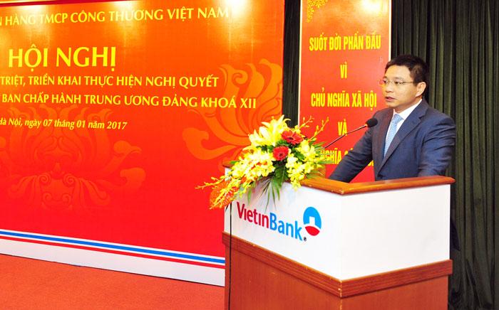 Đảng bộ  VietinBank học tập, quán triệt Nghị quyết Trung ương 4 khóa XII