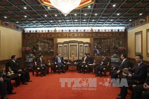 Hợp tác về an ninh, trật tự là một trong những trụ cột quan trọng của quan hệ Việt Nam - Trung Quốc