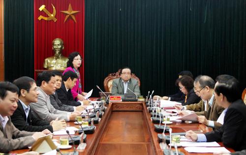 Ban Thường vụ Thành uỷ Hà Nội dành 3 ngày họp kiểm điểm tập thể, cá nhân