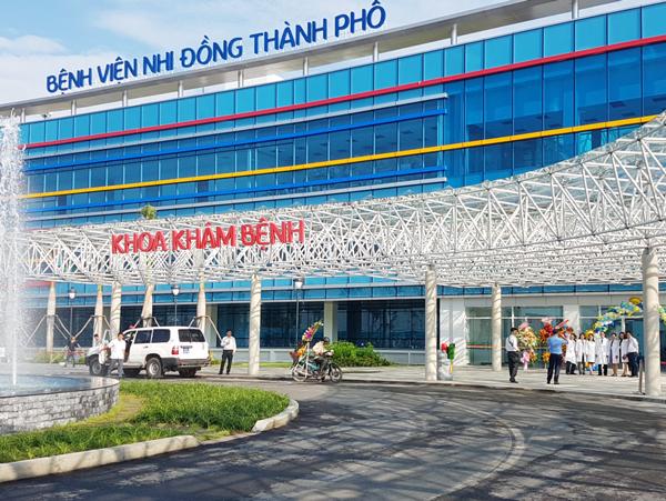 Bệnh viện Nhi đồng TP.Hồ Chí Minh chính thức đi vào hoạt động