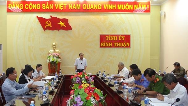 Bình Thuận: Tiếp tục thực hiện đồng bộ các biện pháp phòng ngừa tham nhũng