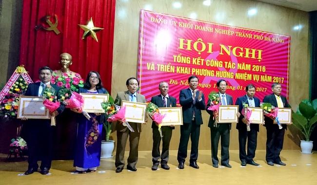 Đảng uỷ Khối doanh nghiệp TP. Đà Nẵng triển khai nhiệm vụ năm 2017