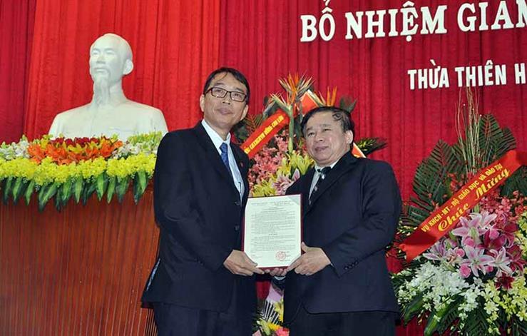 Công bố quyết định bổ nhiệm Giám đốc Đại học Huế nhiệm kỳ 2016 - 2021