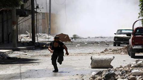 Giao tranh gần thủ đô Syria, đe dọa triển vọng đàm phán hòa bình
