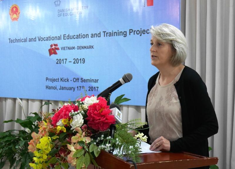 Hội thảo khởi động Dự án hợp tác đào tạo nghề Việt Nam - Đan Mạch