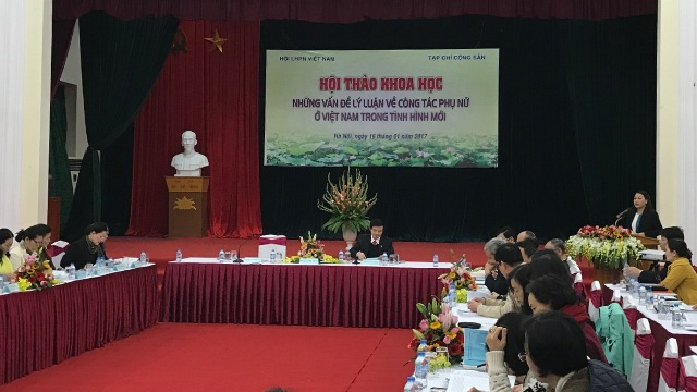 Những vấn đề lý luận về công tác phụ nữ ở Việt Nam trong tình hình mới