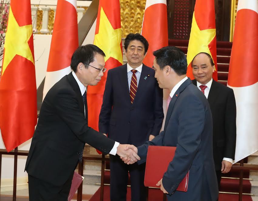 Lễ ký hiệp định vốn vay ODA giữa Việt Nam và Nhật Bản