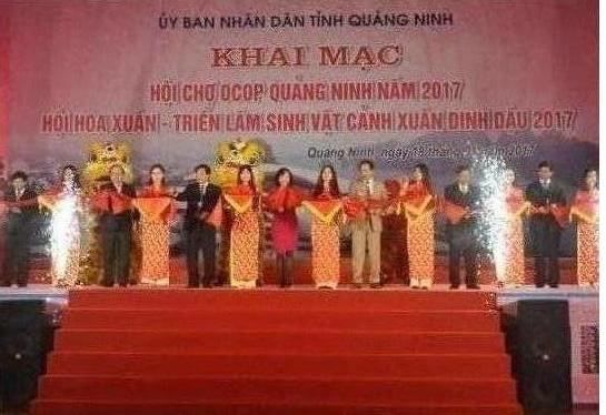 Khai mạc Hội chợ OCOP Quảng Ninh 2017