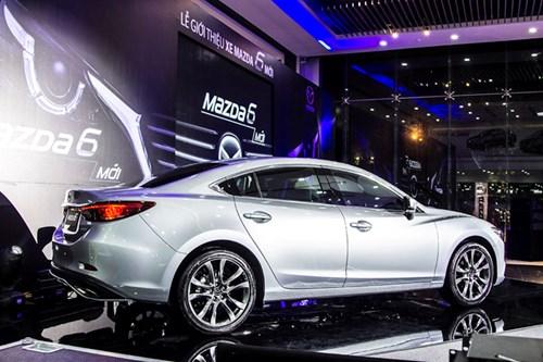 Thaco tiếp tục ra mắt xe ô tô Mazda6 mới