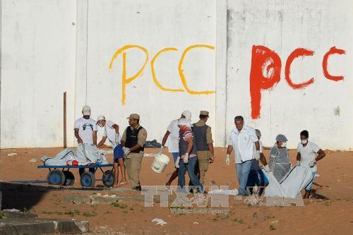 Brazil: Bạo loạn tại nhà tù, ít nhất 26 phạm nhân thiệt mạng