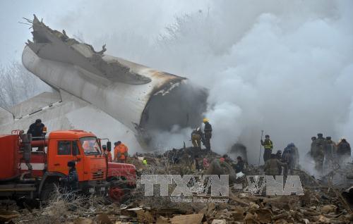 Vụ rơi máy bay vận tải của Thổ Nhĩ Kỳ tại Kyrgyzstan: Tìm thấy hộp đen đầu tiên