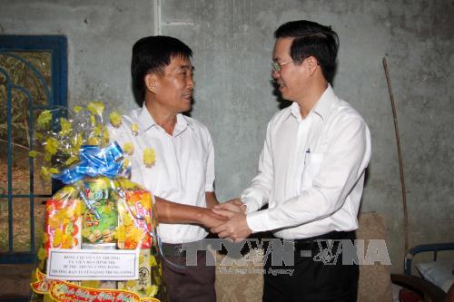 Đồng chí Võ Văn Thưởng thăm, chúc Tết tại tỉnh Đồng Nai và thành phố Hồ Chí Minh