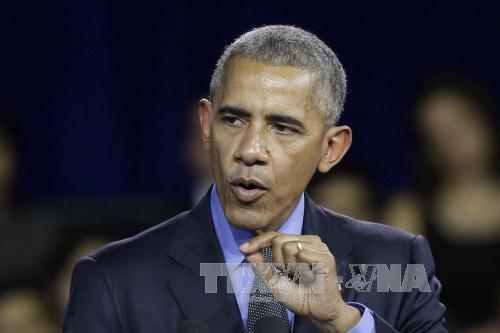 Tổng thống Mỹ Obama bác bỏ ý kiến về sự rạn nứt trong quan hệ giữa Washington - Tel Aviv