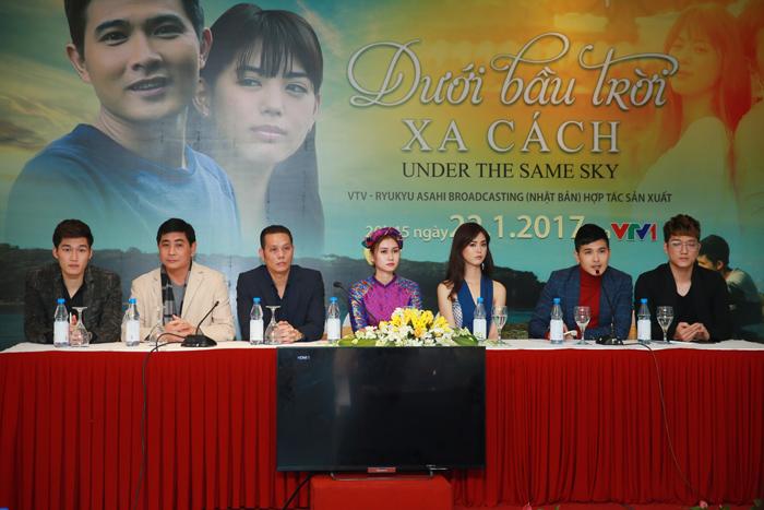 """Việt Nam - Nhật Bản hợp tác sản xuất phim truyền hình """"Dưới bầu trời xa cách"""""""