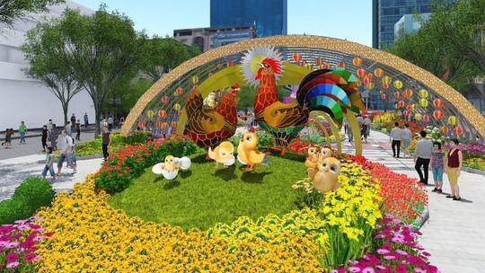 TP. Hồ Chí Minh: Phân luồng giao thông phục vụ đường hoa Nguyễn Huệ