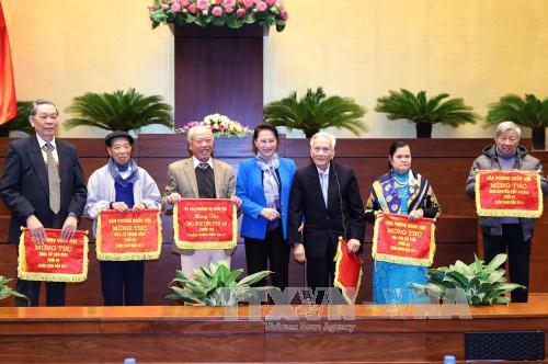 Chủ tịch Quốc hội Nguyễn Thị Kim Ngân gặp mặt các thế hệ đại biểu Quốc hội chuyên trách