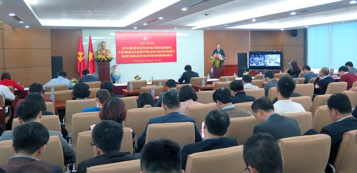 Đảng bộ SCIC quán triệt Nghị quyết Trung ương 4 khóa XII và Chỉ thị 05-CT/TW