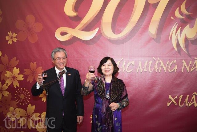 Đại sứ quán Việt Nam tại Hoa Kỳ tổ chức mừng Xuân cùng cộng đồng người Việt