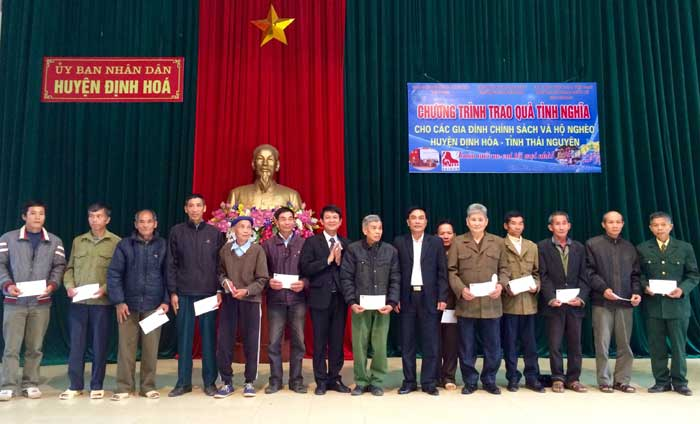 """Chương trình """"Đảng cho ta mùa Xuân"""" tặng quà tình nghĩa tại Thái Nguyên"""