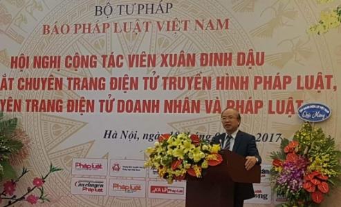 Báo Pháp luật Việt Nam ra mắt 2 chuyên trang điện tử