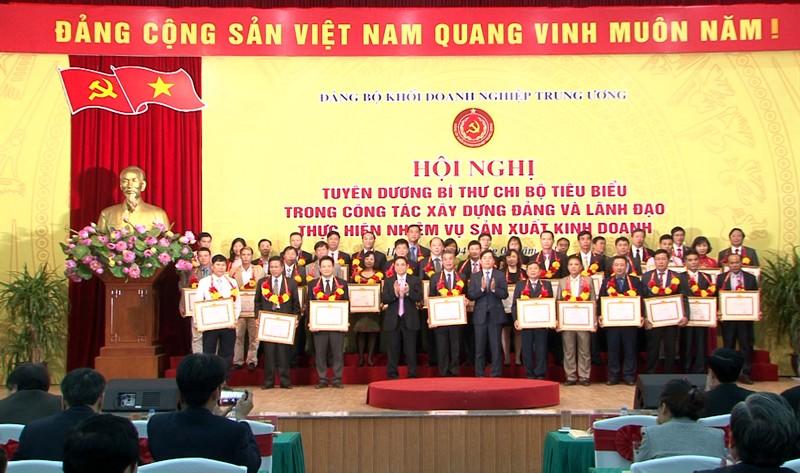 Đảng ủy Khối Doanh nghiệp Trung ương: Tuyên dương 192 Bí thư Chi bộ tiêu biểu