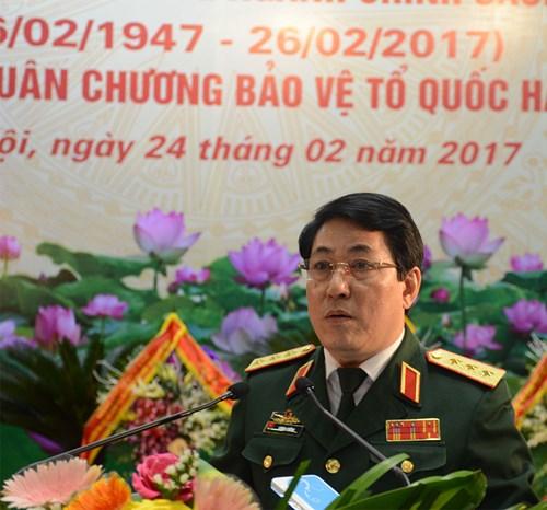 Ngành Chính sách quân đội kỷ niệm 70 năm truyền thống và đón nhận Huân chương Bảo vệ Tổ quốc hạng Nhất