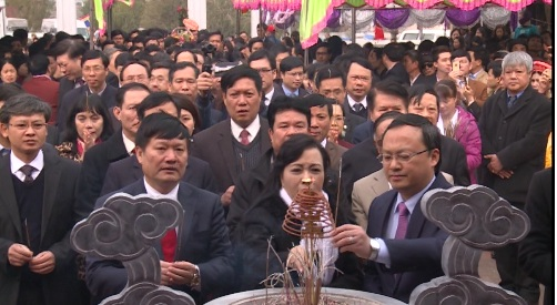 Hưng Yên dâng hương tưởng niệm 226 năm ngày mất Đại danh y Hải Thượng Lãn Ông Lê Hữu Trác