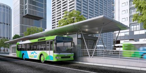 Hà Nội dự kiến triển khai tuyến buýt nhanh BRT thứ 2 trong quý I/2017